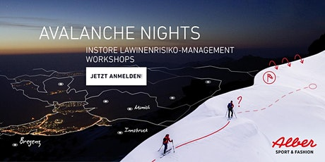 ORTOVOX AVALANCHE NIGHTS | ALBER SPORT Tickets