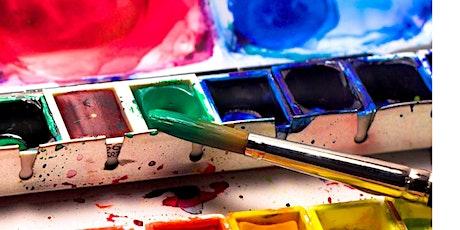 NEW WATERCOLOR - Workshop auf der kreativ freiburg tickets