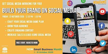 Build Your Brand on Social Media - Free Seminar in North Sydney tickets