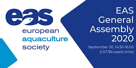 European Aquaculture Society (EAS) General Assembly 2020 tickets