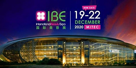 International Beauty Expo (IBE) 2020 tickets