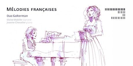 Mélodies françaises tickets
