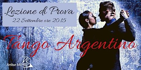 Copia di Lezione di prova - Tango Argentino biglietti
