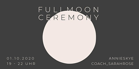 Online Fullmoon Ceremony Tickets