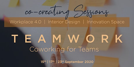Co-Creating Session #3 | Teamwork - Coworking for Teams Tickets