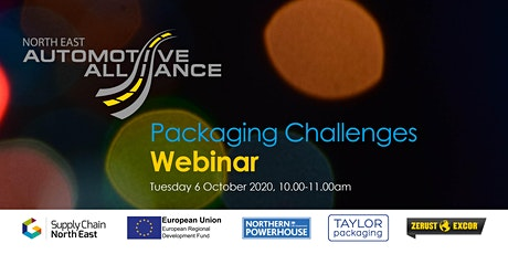 Packaging Challenges Webinar with Taylor Packaging and Zerust tickets