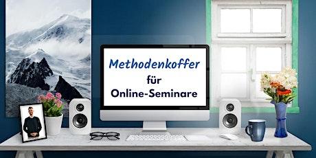 5 Tage Kompakt-Workshop Methodenkoffer für Online-Seminare Tickets