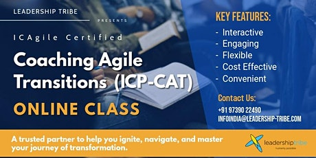 Coaching Agile Transitions (ICP-CAT) | Virtual Classes - October 2020 tickets