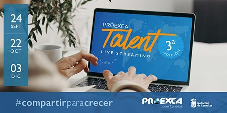 III Encuentro Proexca Talent Live Streaming 2020. entradas