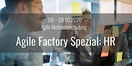 Agile Factory Spezial: HR  - Die agile Methodenschulung in Frankfurt/Main Tickets