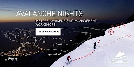 ORTOVOX AVALANCHE NIGHTS | Alpenstrand Tickets