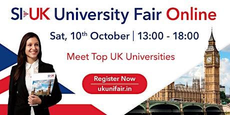 SI-UK Ahmedabad Online UK University Fair  2020 tickets