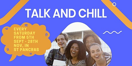 Talk and Chill - Counselling and Mentoring for Young People tickets