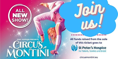 'Circus Montini' Opening Night for St Peter's Hospice tickets