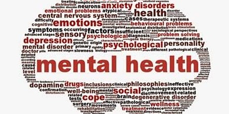 CANCELLED Mental Health an Introduction - Online Course - Community tickets