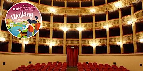 Prato&Teatro&Vino. Tour con aperitivo o cena biglietti
