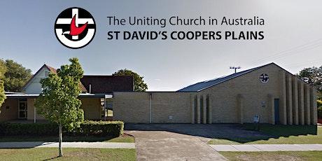 St David's  UC CP - 4 Oct 2020 at 8:30am - worship service tickets