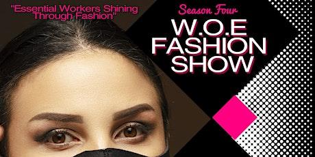 2020 WOE Fashion Show tickets