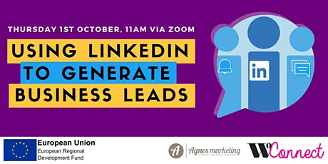 WoConnect - Using LinkedIn to Generate Business Leads tickets
