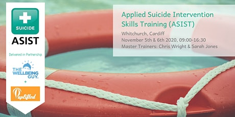 Cardiff | ASIST: Applied Suicide Intervention Skills Training (Nov 2020) tickets