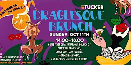 Draglesque Brunch @ Tucker Tickets