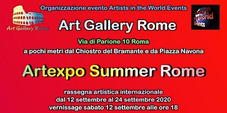 Artexpo Summer Rome 2020 - Rassegna artistica internazionale a Roma biglietti