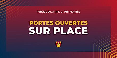 Académie Saint-Louis préscolaire et primaire   Portes ouvertes sur place! billets