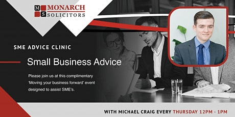 Small Business Advice Clinic tickets