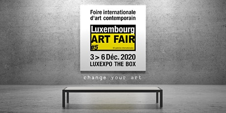 2020 Luxembourg ART FAIR billets