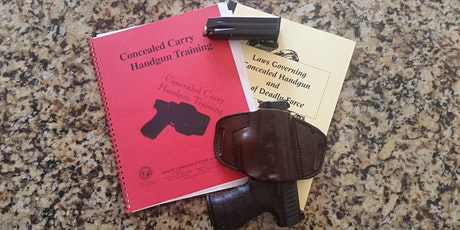 NC Concealed Carry Legal (CCL) September 18, 2020 tickets