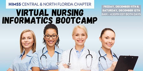 CNFL HIMSS VIRTUAL Nursing Informatics Bootcamp with Dr Newbold tickets