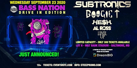 Bass Nation Baltimore: Drive In Edition feat. Subtronics, Boogie T, & More tickets