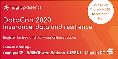 DataCon: Insurance, data and resilience tickets