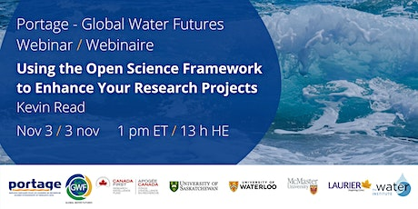 Using the Open Science Framework to Enhance Your Research Projects tickets