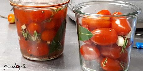 Atelier conserves avec Fruitopia- tomates et passata billets