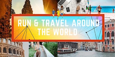 Travel & Virtual Run Around the World 2020 tickets