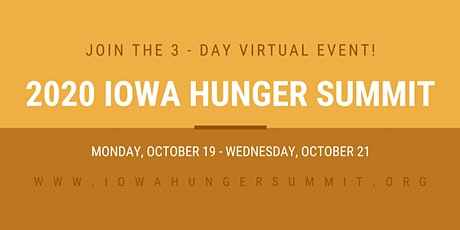2020 Iowa Hunger Summit [VIRTUAL] tickets