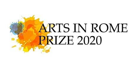 Mostra Finalisti Roma - Arts in Rome Prize biglietti