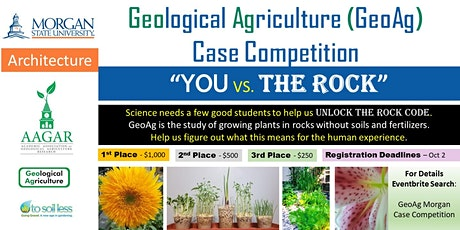 GeoAg Morgan Case Competition tickets