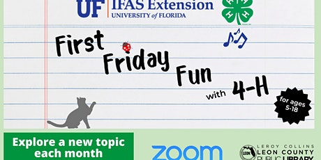 First Friday Fun with 4-H tickets