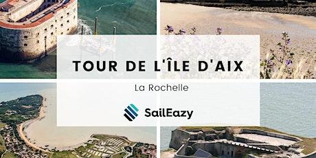 Tour de l'Île d'Aix en voilier avec SailEazy billets