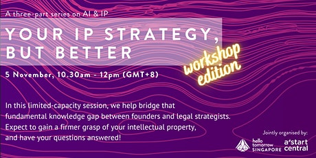 AI Series: Your IP Strategy,  But Better (Workshop Edition) tickets