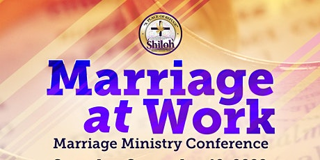 """""""Marriage at Work"""" Marriage Ministry Conference tickets"""