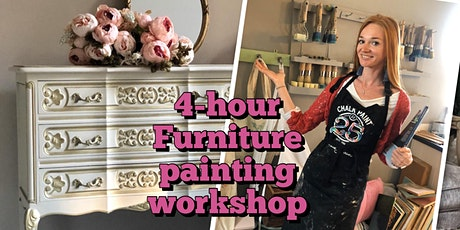 Furniture makeover workshop, 4 hours tickets