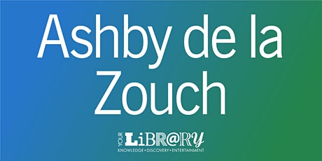 Ashby de la Zouch Library Visit - September tickets