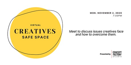 Creative Safe Space - Roundtable Talk tickets