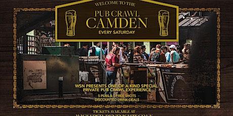 Camden Pub crawl - Every Saturday tickets