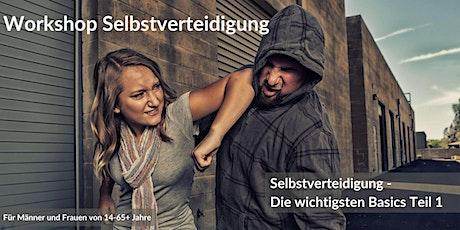 Workshop Selbstverteidigung – Selbstverteidigung Einstieg Teil 1 Tickets