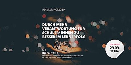 #DigitalpACT2020 | Webinar mit Björn Nölte Tickets