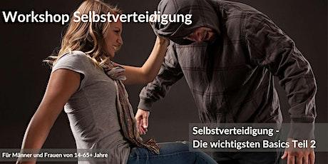 Workshop Selbstverteidigung – Selbstverteidigung Einstieg Teil 2 Tickets